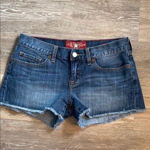 Lucky 🍀 Boardwalk shorts!  Size 0/25